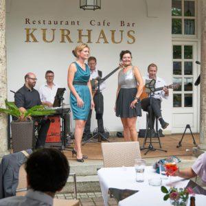 Hochzeitsband Lounge Akustik Jazz Bayern Kurhaus Bad Tölz