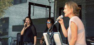 Rockmusik Open Air Stadtteilfest